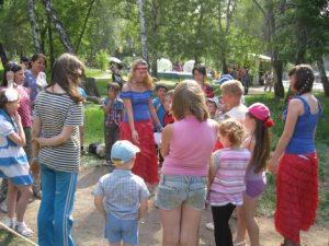 День защиты детей прошел 2 июня в Городском парке «Сад Победа».