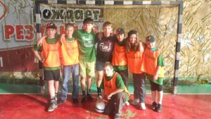 Во время майских каникул фондом был организован футбольный лагерь для детей из неблагополучных семей города Челябинска.