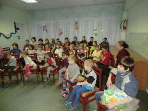 Маршрут добра в СРЦ для несовершеннолетних Курчатовского района.