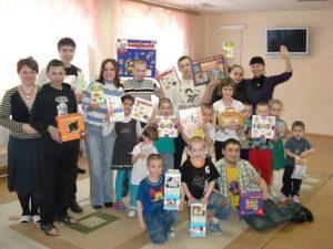 Улыбки-детям, под таким девизом 16 марта в Челябинске прошла встреча с детьми, оставшимися без попечения родителей.