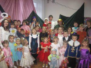 Детский праздник Новый год в Челябинске.