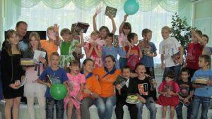 День знаний в Социальном реабилитационном центре для несовершеннолетних