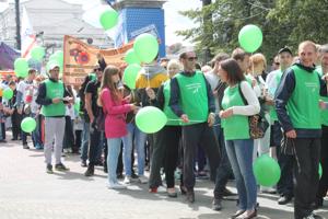 Впервые в Челябинске прошло шествие с участием 10 НКО