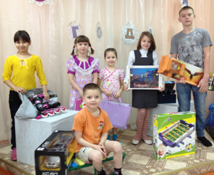 Рождественская акция «Добрый Ангел» в Челябинске и Копейске