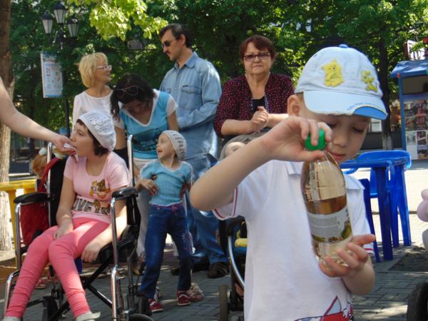 День защиты детей источник надежды инвалиды дети челябинск 3