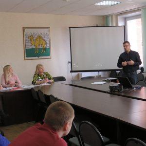 Презентация в Администрации Калининского р-на технологий интерактивной профилактики
