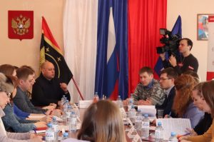 Круглый стол по решению напряжённой ВИЧ ситуации в Коркино