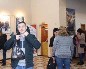 Показ фильма «Голос за безгласных» в кинотеатре «Знамя»